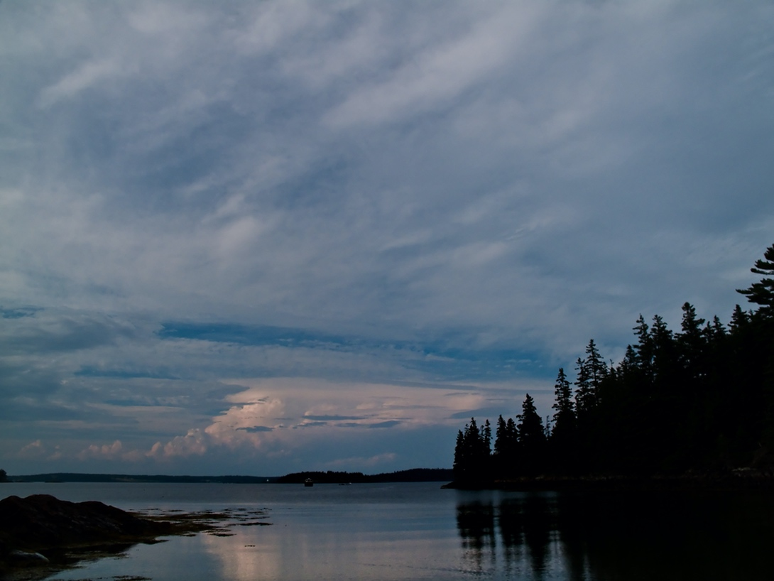 """Clouds in the North"", Island of Vinalhaven, 2009"