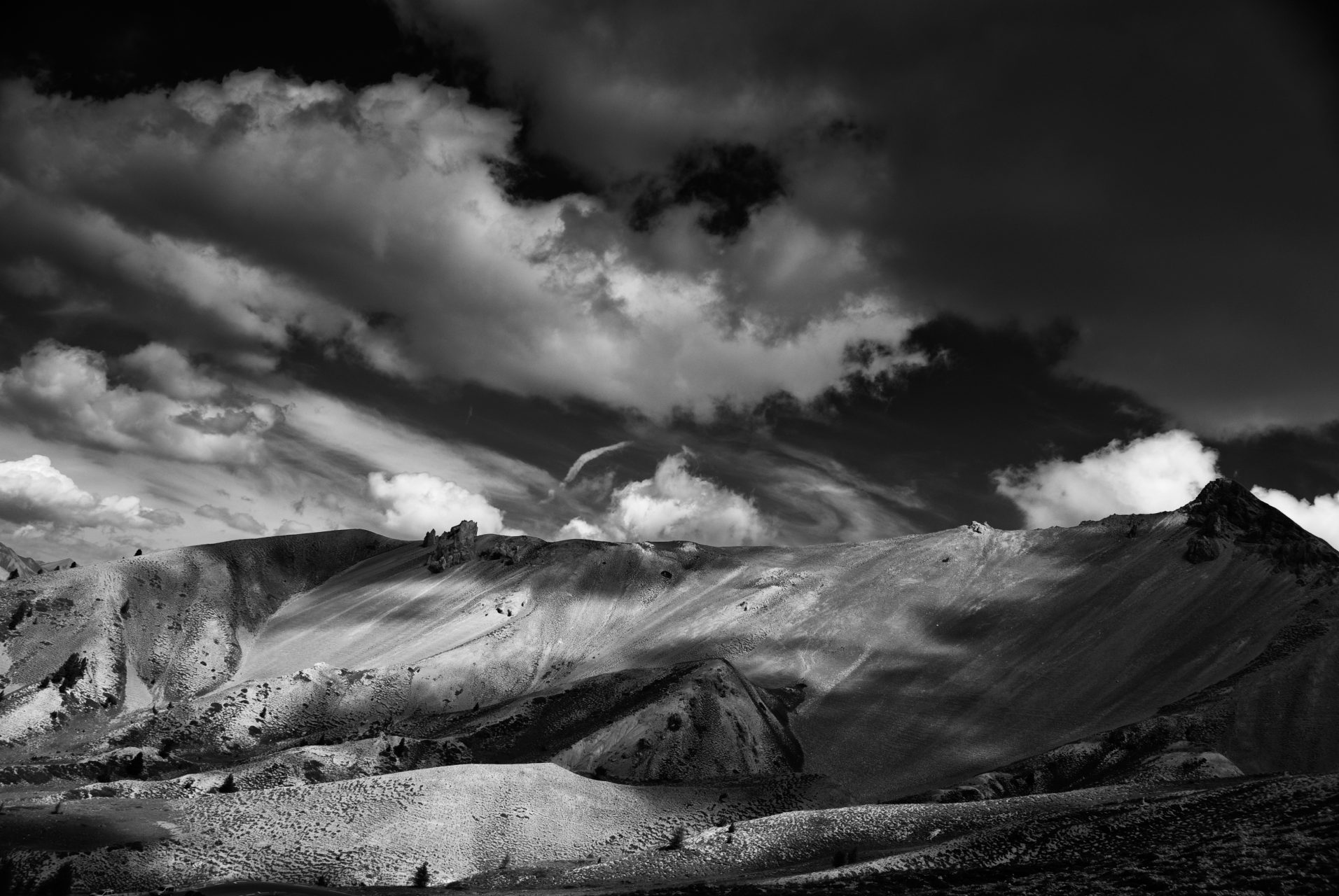 """""""Clouds and Mountains"""", Col d'Izoard, France, 2007"""