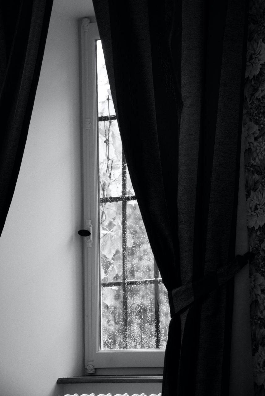 """Rain on the Window"", Chateau Picomtal, Crots, France, 2007"