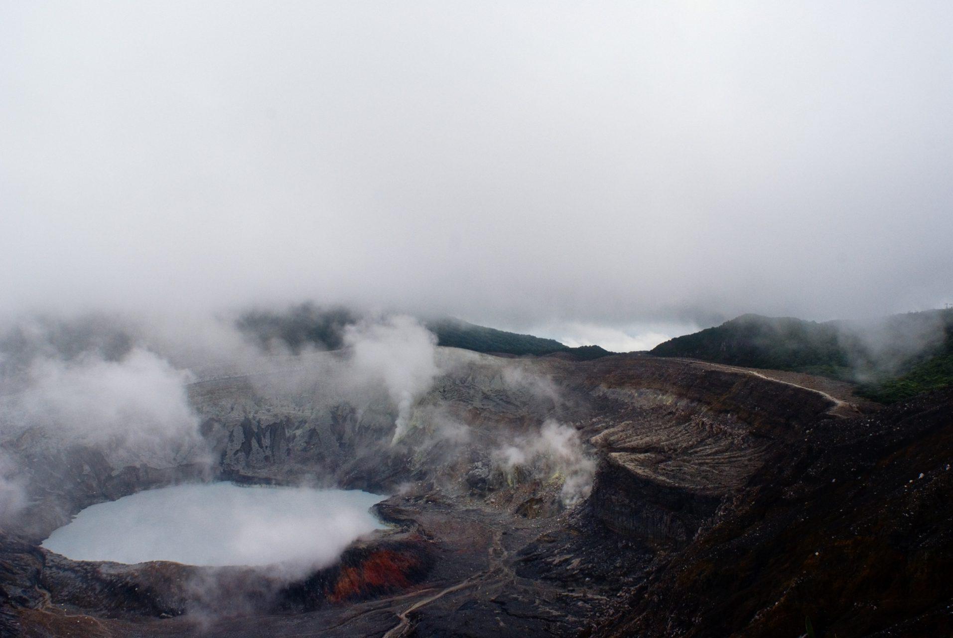 "'Clouds and Sulfur Vapors"", Poas Volcano National Park, San Isidro, Alajuela"