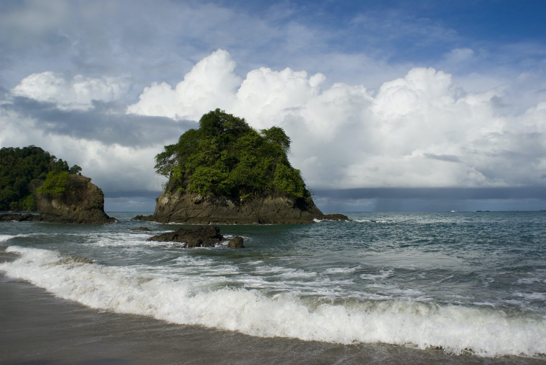 """Distant Rain"", Manuel Antonio National Park"
