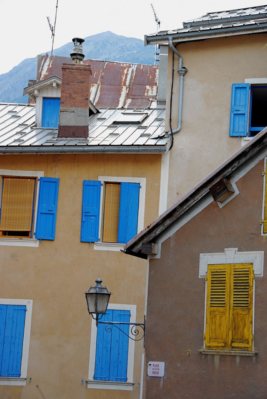 """Blue and Ochre"", Briancon, France, 2007"