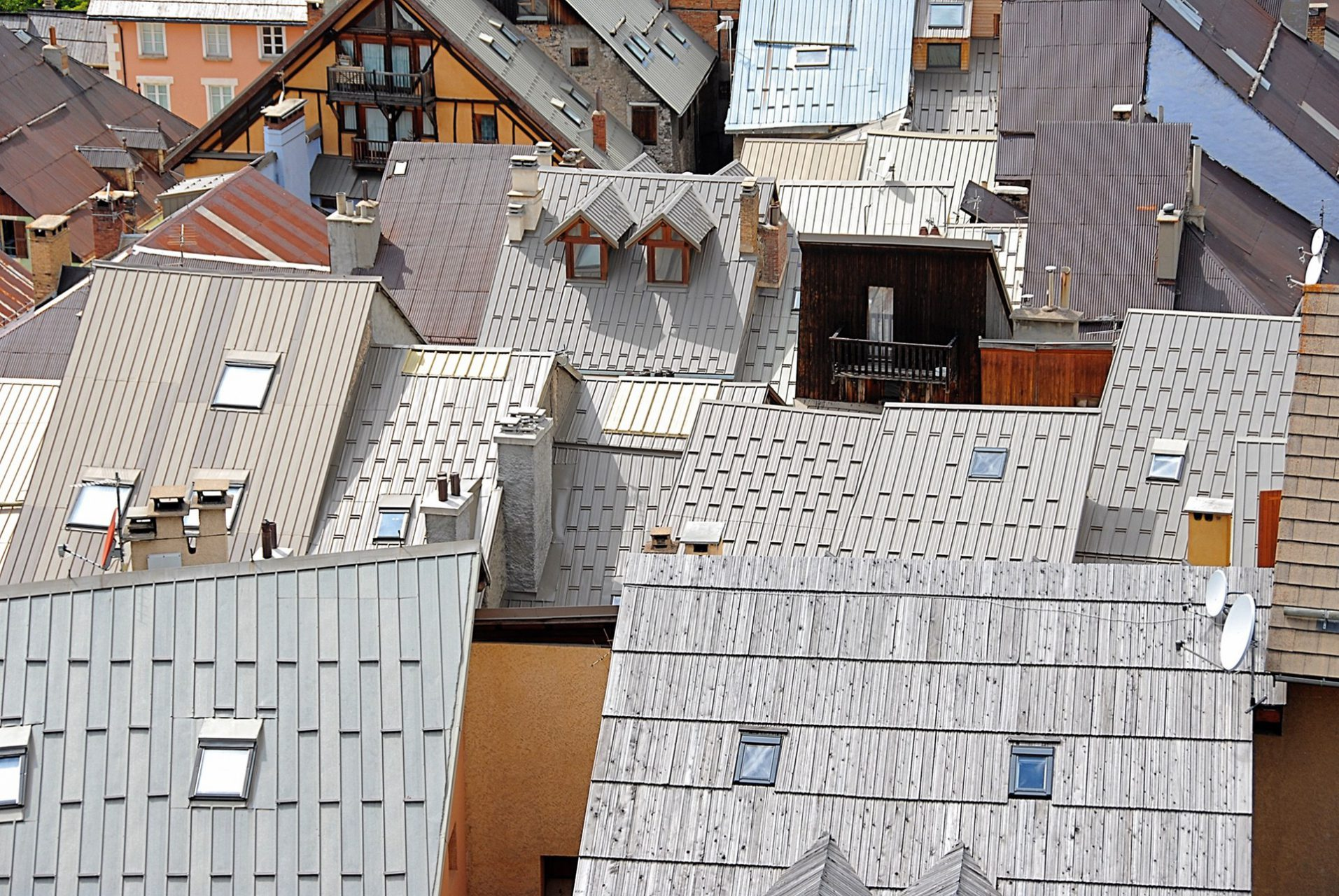 """Rooftops"", Briancon, France, 2007"