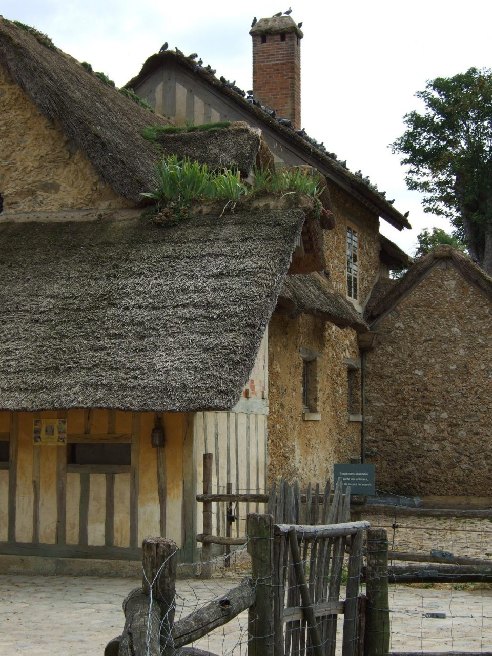 """Little hamlet of the Queen"", Palace of Versailles, France 2007"