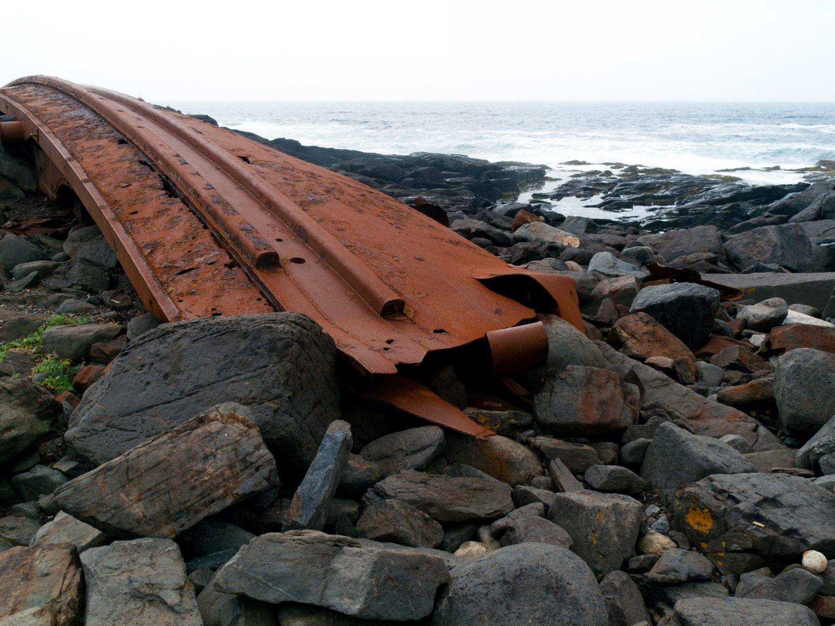 """Shipwreck"", Island of Monhegan, 2010"